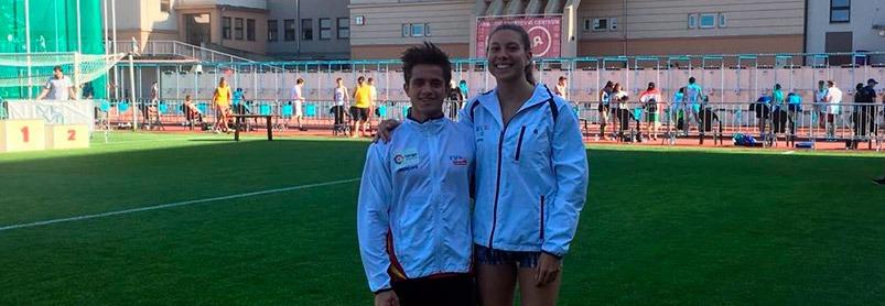 Oriol i Laura al 2018 European Cup Czech Open U19 – Praga (CZE)