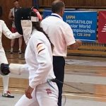 Laura Heredia - Prova d'Esgrima Mundial Júnior - República Txeca