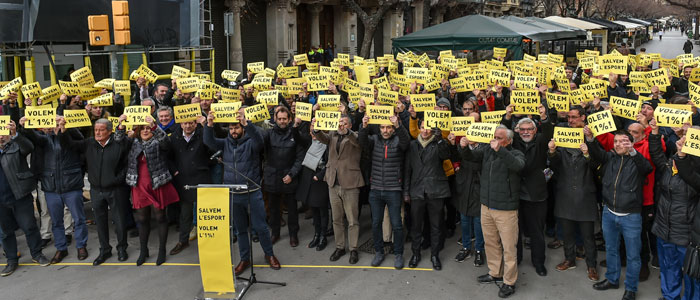 Manifest: Salvem l'Esport! Volem l'1%